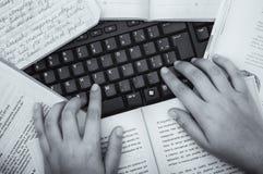 writer Fotografía de archivo