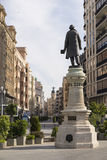 Writer Jose Zorrilla statue Stock Photography