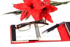 Writer necessities Stock Photography