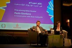 Writer paolo giordano Stock Image