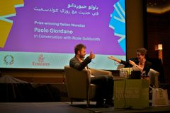 Writer paolo giordano Royalty Free Stock Photo