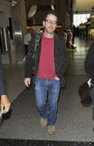 Writer producer Ethan Cohen at LAX. LOS ANGELES - FEBRUARY 8 : Writer producer of such classics as Big Lebowski, No Country For Old Men, Fargo and Tru Grit Ethan Stock Photography