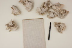Writers block concept Stock Photography