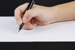 Writing Royalty Free Stock Images