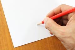 writing Zdjęcie Stock