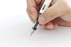 writing royalty-vrije stock afbeelding