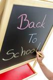 Writing Back to school Royalty Free Stock Photo