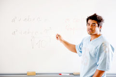 Writing on the board Royalty Free Stock Images
