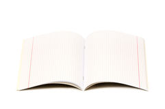 Writing-book Royalty Free Stock Photos