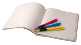 Writing-book Stock Photography