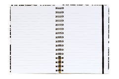 Writing-book for records Stock Photo