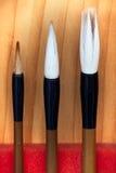 Writing brush Stock Photography