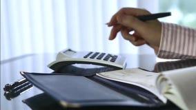 Writing a cheque Stock Photos