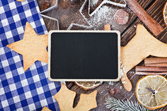Writing Christmas greetings merry christmas Stock Photos