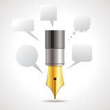 Writing concept Royalty Free Stock Photo