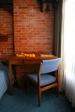 Writing Desk And Chair With Flower Garlent
