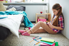 Writing in diary Royalty Free Stock Images