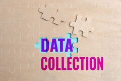 Writing displaying text Data Collection. Word for gathering and measuring information on targeted variables Building An
