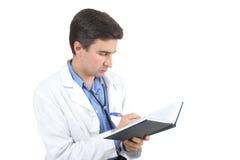 Writing doctor Stock Photo