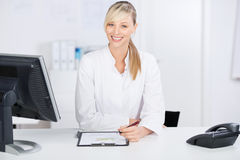 Writing doctor Stock Images