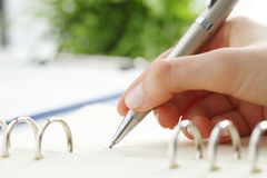 Writing Documents Royalty Free Stock Photo