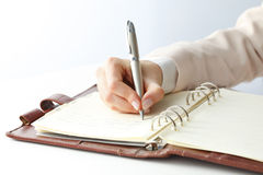 Writing Documents Royalty Free Stock Image