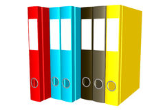 Writing folders Stock Image