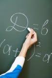 Writing formula Stock Photo
