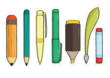 Writing Gear Vector Stock Photo