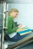Writing girl Royalty Free Stock Photography