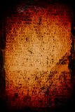 Writing grunge background. Abstract crazy writing on a grunge textured background stock photos