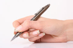 Writing hand Royalty Free Stock Image