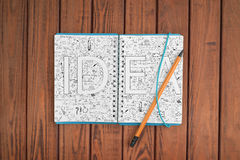 Writing Ideas Creative Concept Royalty Free Stock Photo