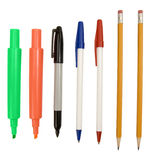 Writing Implements 2 Stock Image