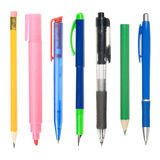Writing instruments Royalty Free Stock Photo