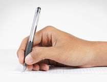 Writing letter Stock Photo