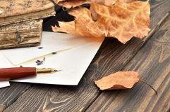 Writing a Letter Royalty Free Stock Images