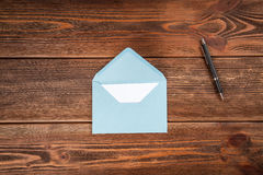 Writing a letter Royalty Free Stock Photo