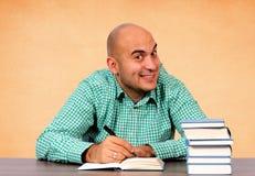 Writing Man Stock Photos