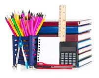 Writing-materials Royalty Free Stock Photos