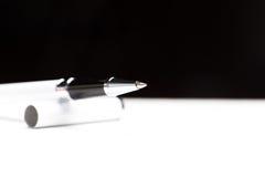 Writing node of a ball pen Royalty Free Stock Photos
