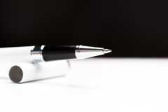 Writing node of a ball pen Royalty Free Stock Images