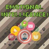 Writing note showing Emotional Intelligence. Business photo showcasing Capacity to control and be aware of demonstratingal. Emotions stock images