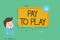 Pay for play essay