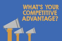 Free Writing Note Showing What S Is Your Competitive Advantage Question. Business Photo Showcasing Marketing Strategy Plan Hands Holdin Stock Photo - 123938460