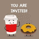Writing note showing You Are Invited. Business photo showcasing Receiving and invitation for an event Join us to