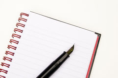 Writing on a Notepad Royalty Free Stock Photography