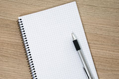 Writing pad Royalty Free Stock Photography
