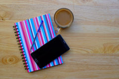 Writing pad with pencil Royalty Free Stock Photo