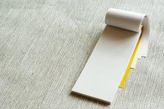 Writing pad Royalty Free Stock Image